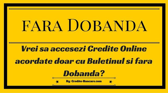 Credite rapide online nebancare