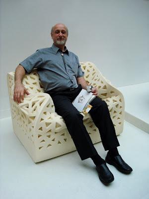 diseño de sillón flexible