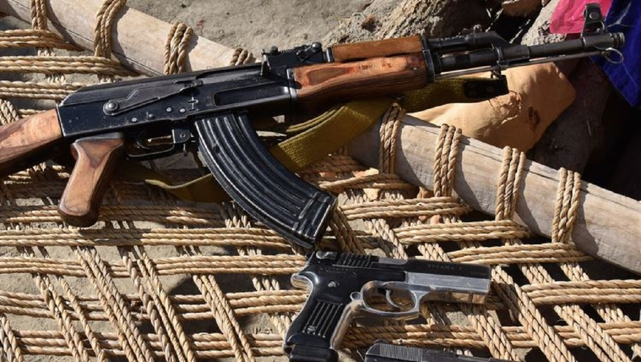 The people of Afghanistan began to be armed for their security