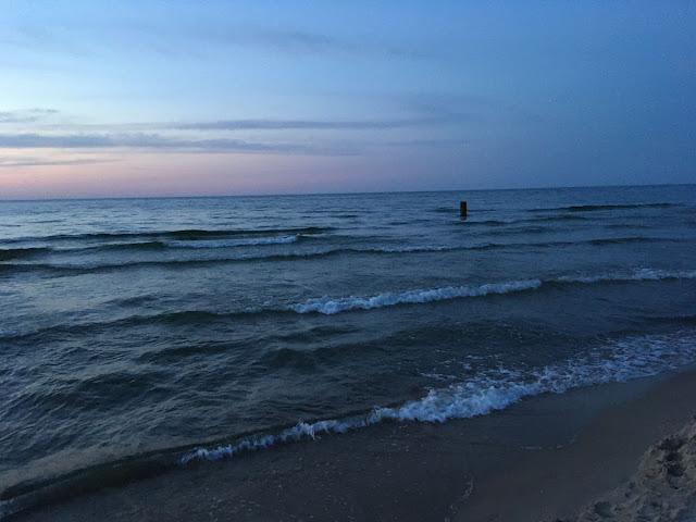 Sarbinowo plaża promenada nadmorska
