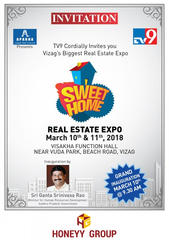 TV9 - Sweet Home Realestate Expo - 2018