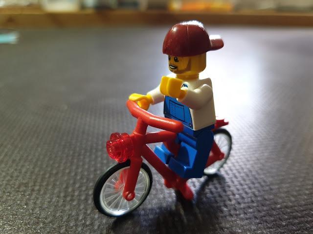 Lego Fahrrad Radpendler