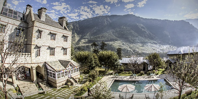 The Himalayan Spa Resort, Manali, Himachal Pradesh  IMAGES, GIF, ANIMATED GIF, WALLPAPER, STICKER FOR WHATSAPP & FACEBOOK