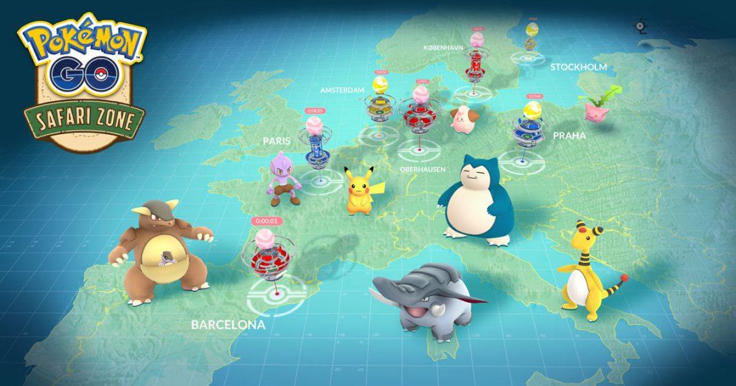 Concretan más detalles de la zona safari de Pokémon GO: gratis, registro y raids especiales
