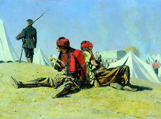 Василий Васильевич Верещагин - Два ястреба (Башибузуки). 1878-1879