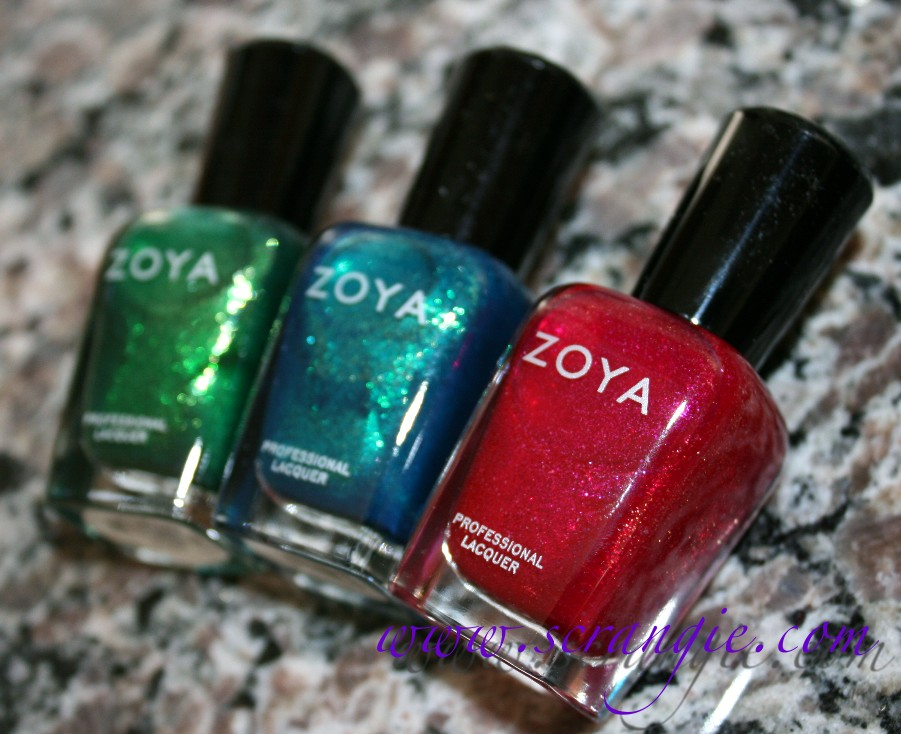 Scrangie The Zoya Color Box Gift Set For Holiday 2011