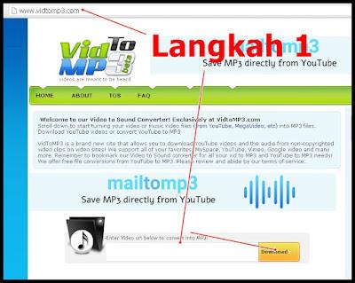 Cara mudah downloads Mp3 Dari Youtube