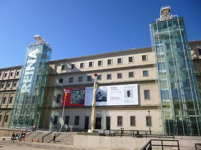 Museu Reina Sofia em Madri