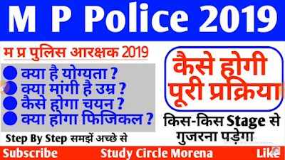 MP Police Recruitment 2019