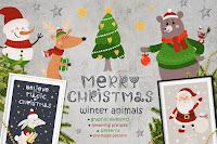 imagenes, ilustraciones, descargar, navidad, christmas