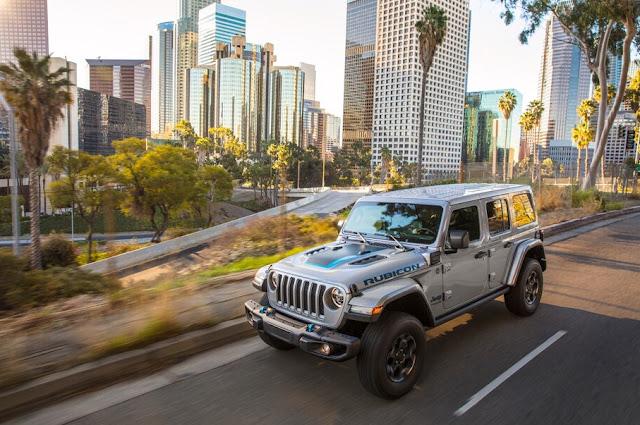 Jeep Wrangler 4xe performance