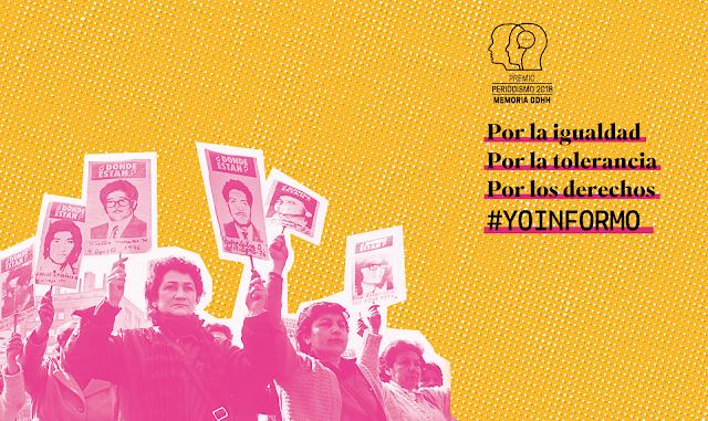 Abiertas las postulaciones al Premio Periodismo, Memoria y DD.HH.