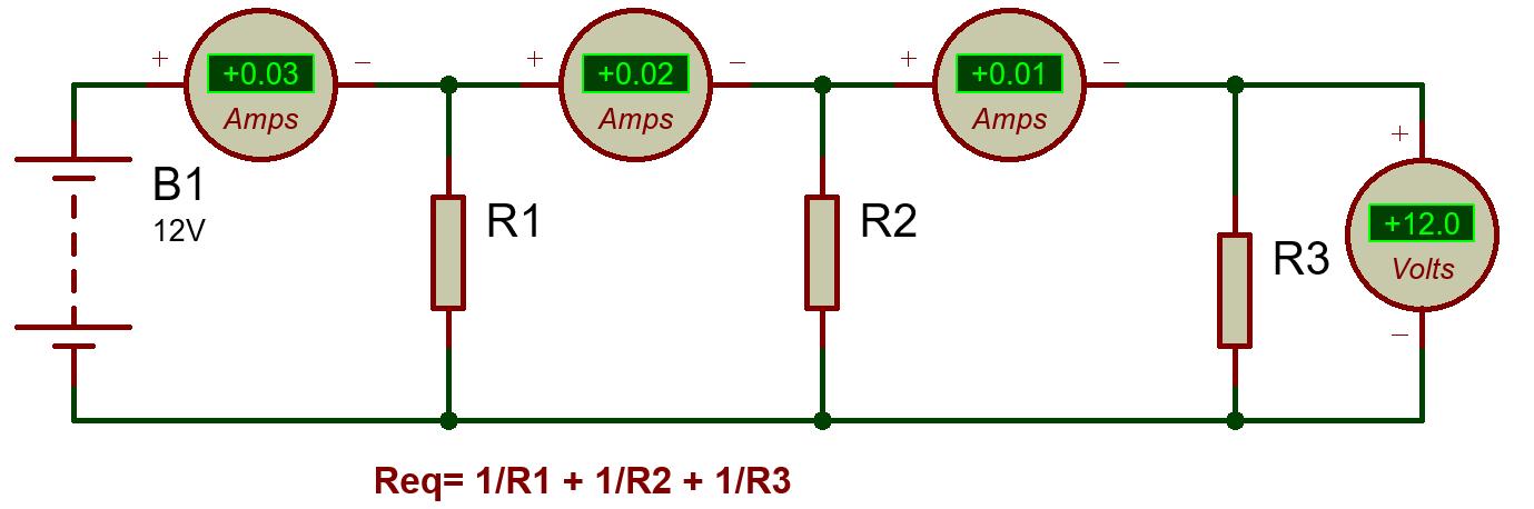 Parallel Connection: current vs voltage-TechnoElectronics44
