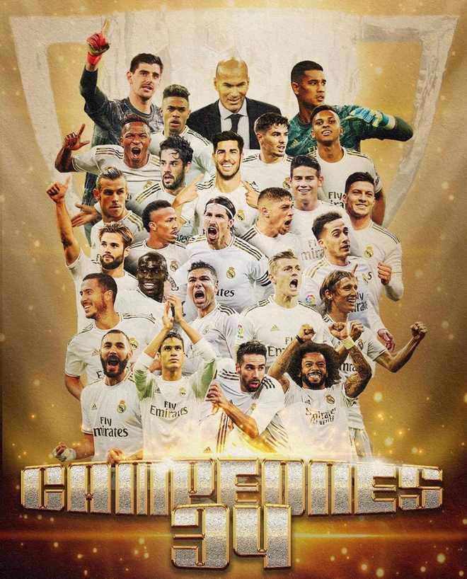 """Real lên ngôi VUA: Kinh ngạc """"ma thuật"""" Zidane & 10 trận thắng liên tiếp 5"""