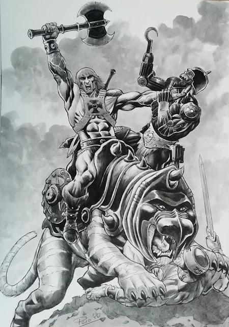Francisco Bertomeu Baidal per i Masters Of The Universe!