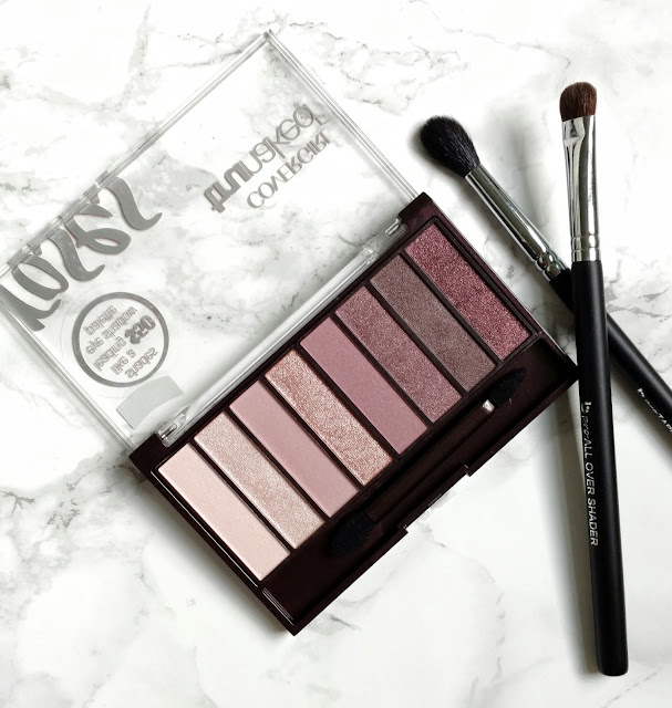 CoverGirl Roses TruNaked Palette Life With Audrey