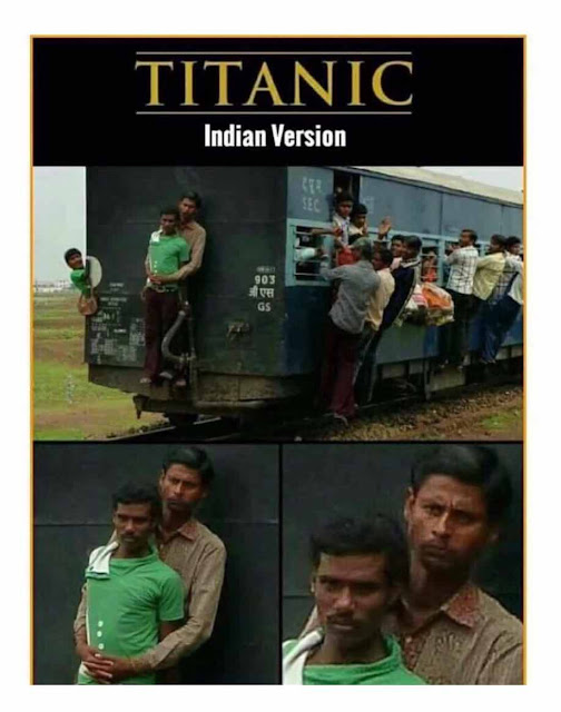 Funny Titanic Indian Version Picture