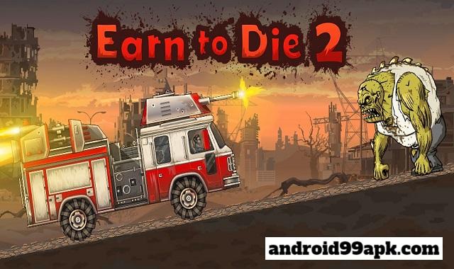 لعبة Earn to Die 2 v1.4.25 مهكرة بحجم 71 ميجابايت للأندرويد