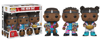 EXCLUSIVE WWE THE NEW DAY 3PK FUNKO POP