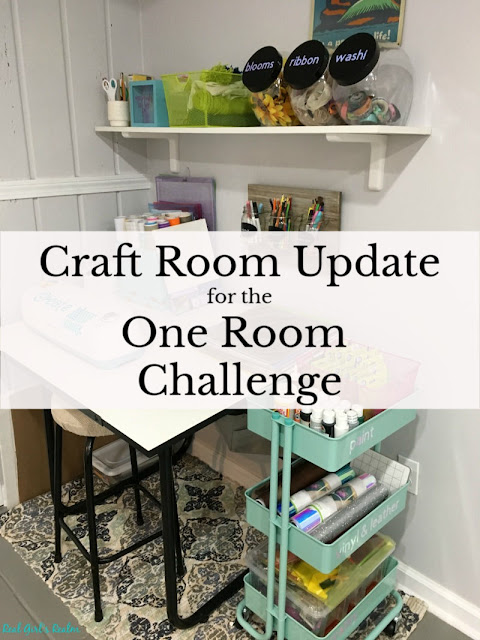 Craft Room Makeover - (One Room Challenge) Week 1