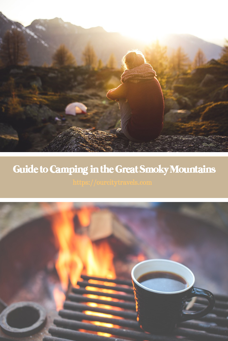 Guide to Campingin the Great Smoky Mountains. It doesn't matter whether you are a luxury camper or you like to rough it; there is no disputing that camping is great fun. The fact that it brings you closer to nature and can make you feel like part of your surroundings is simply a bonus!