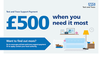 £500 test and trace support payments
