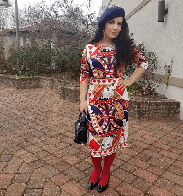 Lovelywholesale Playing Card Dress