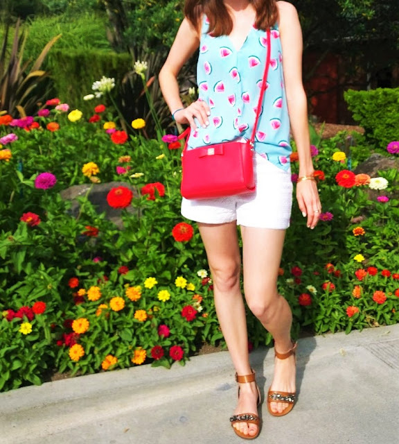 Summer Outfit Everly Watermelon Blouse