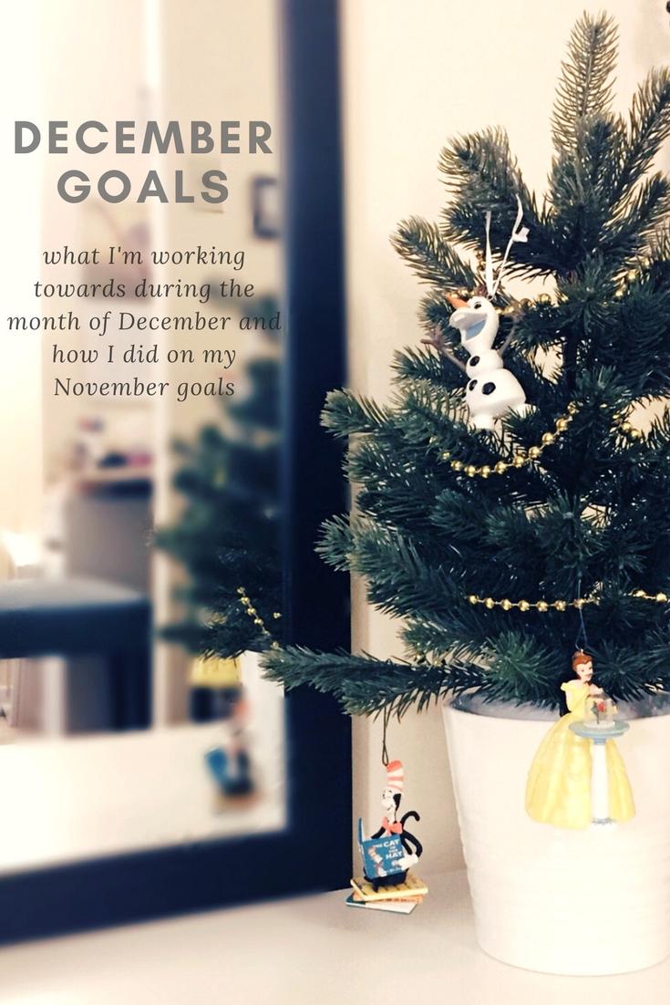 December Goals | kathleenhelen