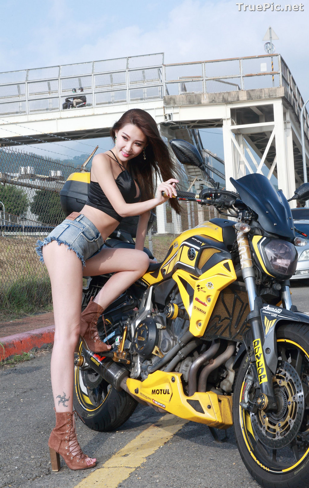 Image Taiwanese Model - Suki - Beautiful and Lovely Motor Racing Girl - TruePic.net - Picture-6