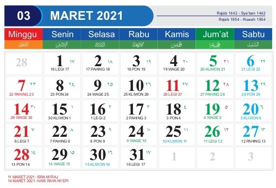 Download Template Kalender 2021 Cdr Pdf Psd Jpg Png Hijriyah Jawa Dan Libur Nasional Mastimon Com