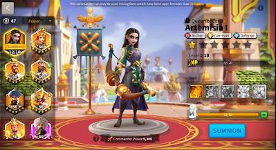 komandan archer terbaik rise of kingdoms