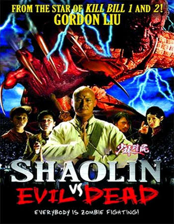 Poster Of Shaolin vs. Evil Dead 2004 Dual Audio 300MB DVDRip 480p Free Download Watch Online Worldfree4u