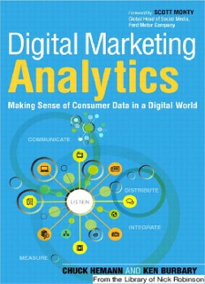 Digital Marketing Analytics PDF Books By Chuck Hemann