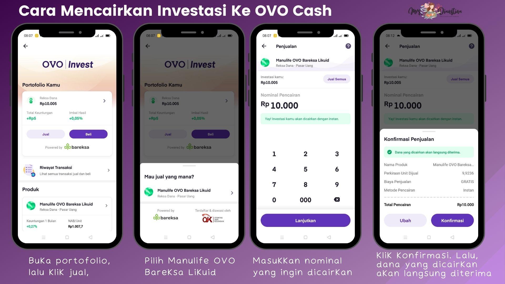 Cara Mencairkan OVO | Invest