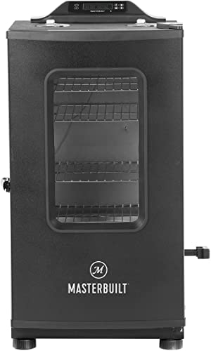 Masterbuilt vertical electric smoker