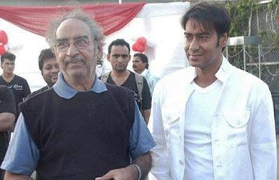 Veeru Devgan with Ajay Devgan Photo