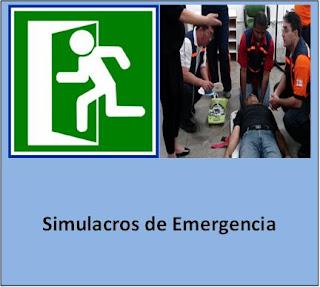 Simulacros de Emergencia.