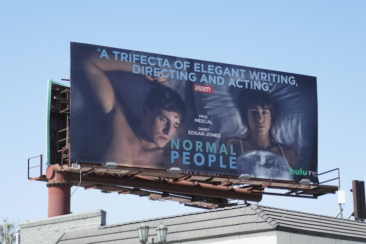 Normal People 2020 Emmy FYC billboard