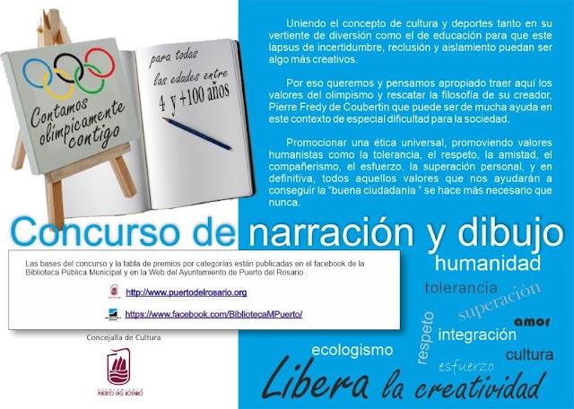 Fuerteventura.- Puerto del Rosario saca  el concurso Contamos Olímpicamente Contigo