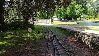 Pavilion Gardens Miniature Railway in Buxton