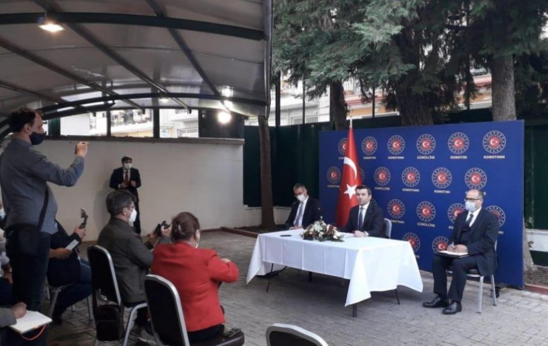 Θράκη: Προκλητικός μέχρι τέλος ο Τούρκος Υφυπουργός Εξωτερικών