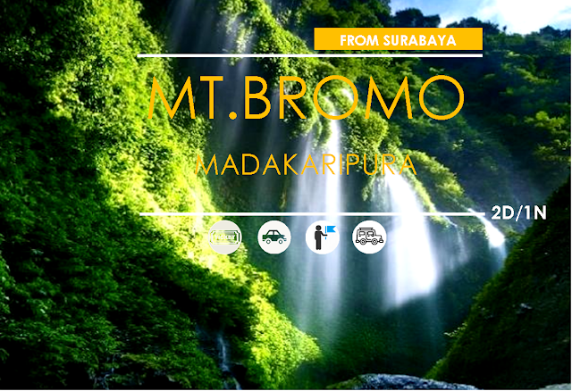 Overland Packages [ Surabaya-Madakaripura - Mt. Bromo ]