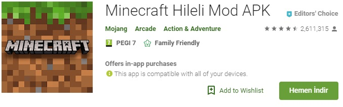 Minecraft indir, Minecraft hileli mod apk, Minecraft skin hilesi, Minecraft sınırsız para hilesi