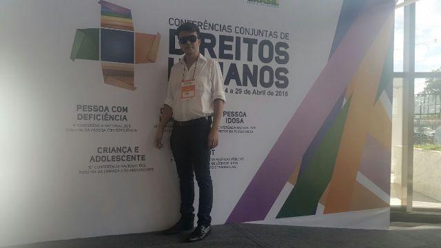 Articulador do Selo Unicef em Bom Jesus participa da X Conferencia Nacional dos Direitos da Criança e Adolescente em Brasília