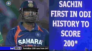 Sachin Tendulkar 200* vs South Africa Highlights