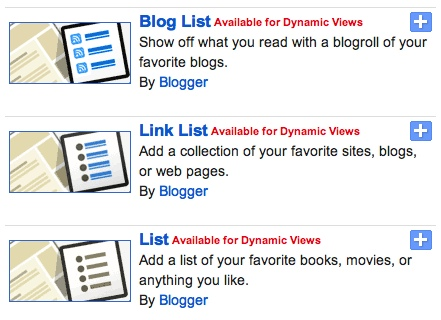 Translate, and Two More Gadgets For Your Dynamic Blogs