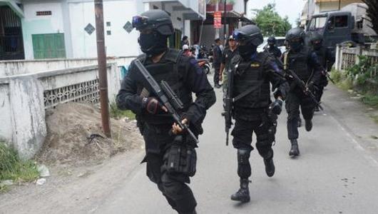 Densus 88 Tangkap Terduga Teroris di Cileungsi Bogor