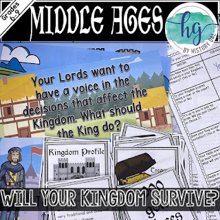 Middle Ages Game cards