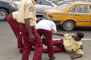Drama as 8 LASTMA Officials Are Arrested in Lagos